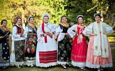 Izbor za najbolje nošeno narodno ruho Slavonije, Baranje i Srijema