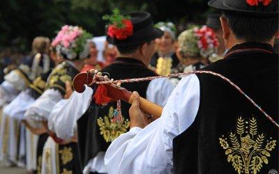 Redoslijed folklornih nastupa na 55. Đakovačkim vezovima